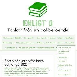 Bästa böckerna för barn och unga 2020 – enligt O