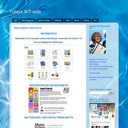 Tülays IKT-sida: Bästa digitala mattesidorna