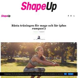 Bästa träningen för mage och lår (plus rumpan!)