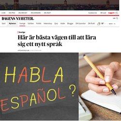 Här är bästa vägen till att lära sig ett nytt språk