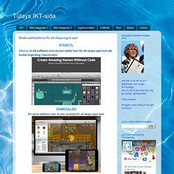 Bästa webbsidorna för att skapa egna spel