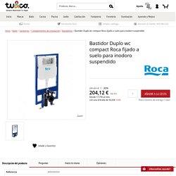 Bastidor Duplo wc compact Roca fijado a suelo para inodoro suspendido