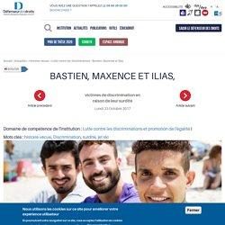 Bastien, Maxence et Ilias,