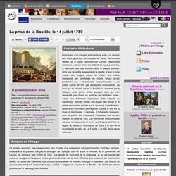 La prise de la Bastille, le 14 juillet 1789