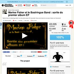 Marine Fisher et le Bastringue Band : sortie du premier album EP présenté par Marine Fisher
