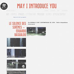 Le silence des sirènes – Eduardo Basualdo