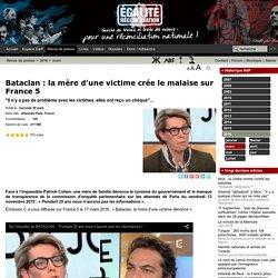 Bataclan : la mère d'une victime crée le malaise sur France 5