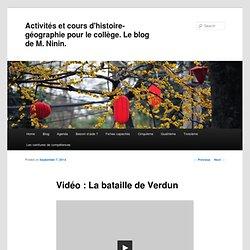 Vidéo : La bataille de Verdun