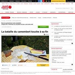 OUEST FRANCE 28/07/16 La bataille du camembert touche à sa fin