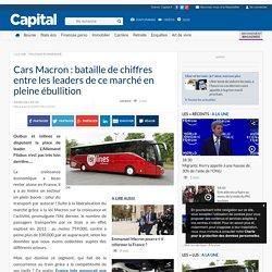 Cars Macron : bataille de chiffres entre les leaders de ce marché en pleine ébullition