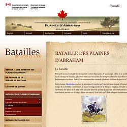 La bataille > Bataille des Plaines d'Abraham > Commission des champs de bataille nationaux