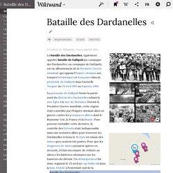 Bataille des Dardanelles - wikipédia