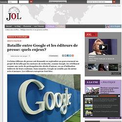 Bataille entre Google et les éditeurs de presse: quels enjeux?