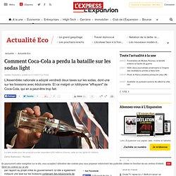 Taxe sodas light: comment Coca-Cola a perdu la bataille