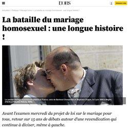 La bataille du mariage homosexuel : une longue histoire ! - 6 novembre 2012