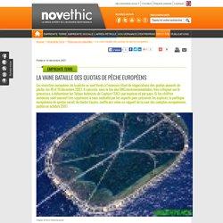 NOVETHIC 19/12/07 La vaine bataille des quotas de pêche européens