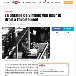 La bataille de Simone Veil pour le droit à l'avortement