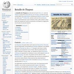 Bataille de Thapsus (46 av. J-C)