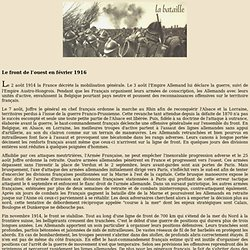 Bataille de Verdun 1916 - 1917