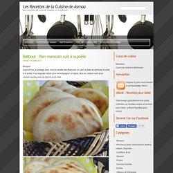Batbout – Pain marocain cuit à la poêle
