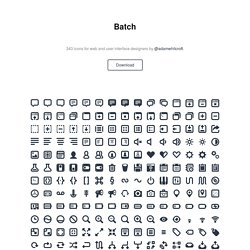 300 Pictographs for Web & User Interface Design