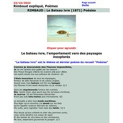 Le Bateau ivre de Rimbaud