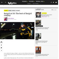 Batgirl at 50: The best of Batgirl cosplay - Syfy Wire