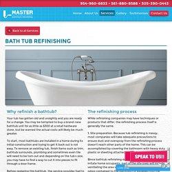 Bath Refinishing Service West Palm Beach
