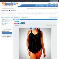 Bathing Suits For Plus Size Women