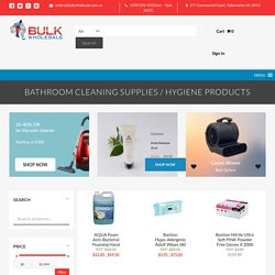 Bathroom Cleaning Supplies & Hygiene Products - Bulk WholeSale