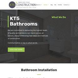 Hire The Best Bathroom Installation Esher
