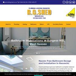 Bathroom Installation Hassocks
