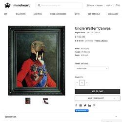 Buy Uncle Walter wall art for bathroom