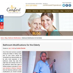 Bathroom Modifications for the Elderly