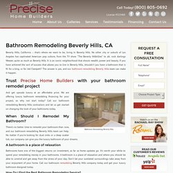 Bathroom Remodeling Beverly Hills, CA