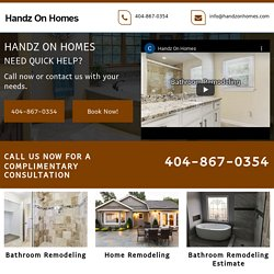 Handz On Homes, bathroom, home remodeling Mableton GA