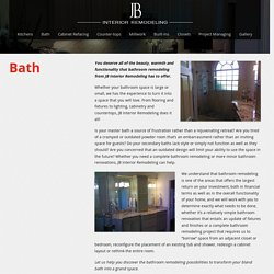 Bathroom Remodeling Palm Beach Gardens, Jupiter Florida