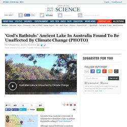 'God's Bathtub:' Ancient Lake In Australia Found To Be Unaffected By Climate Change (PHOTO)