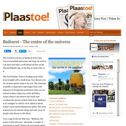 EcoPlanet Bamboo & Bathurst - At the Centre of the Universe
