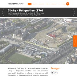 reinventer.paris / Appel à Projets Urbains Innovants