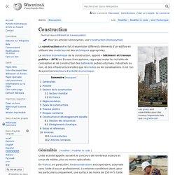Bâtiment et travaux publics
