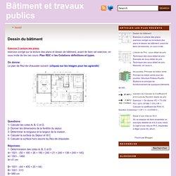 Dessin du bâtiment ~ Bâtiment et travaux publics