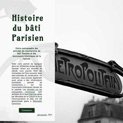 BatiParis : période de construction des immeubles parisiens