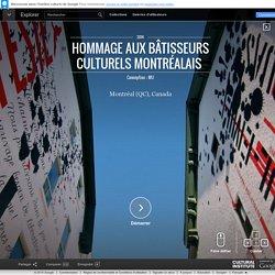 Hommage aux bâtisseurs culturels montréalais – Google Cultural Institute