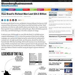 Eike Batista: How Brazil's Richest Man Lost $34.5 Billion