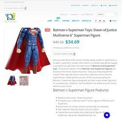 Batman and Superman Toys, Batman v Superman figure – Discount Toys