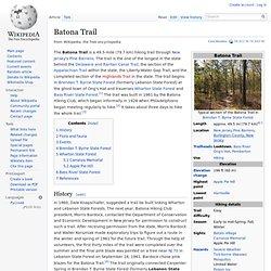 Batona Trail