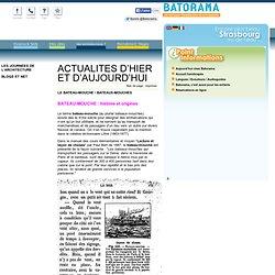 LE BATEAU-MOUCHE / BATEAUX-MOUCHES