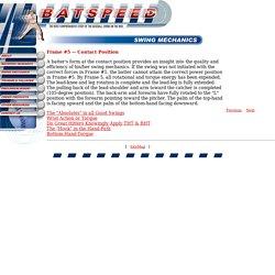 BatSpeed.com_Baseball and Softball Swing Hitting Mechanics
