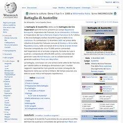 Battaglia di Austerlitz